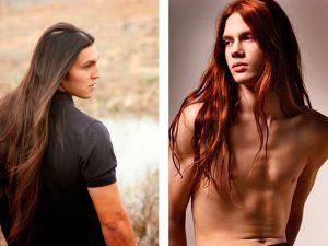 Модные мужские стрижки на длинные волосы 2018 фото