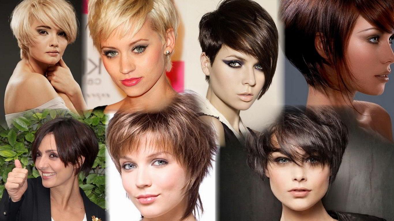 Модные прически на короткие волосы 2020 фото