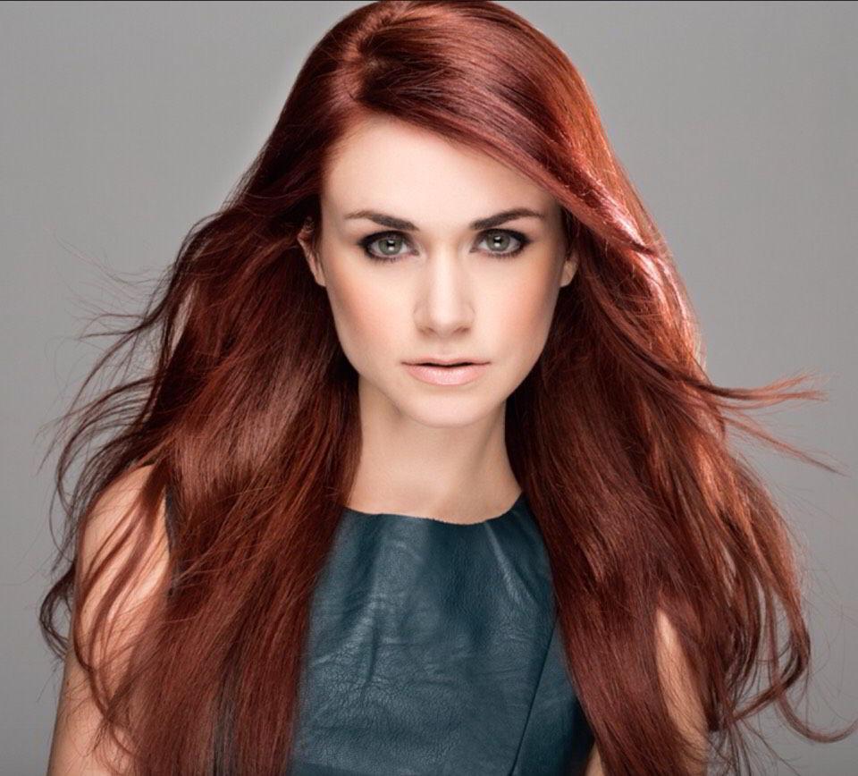Как подобрать оттенки рыжего цвета волос