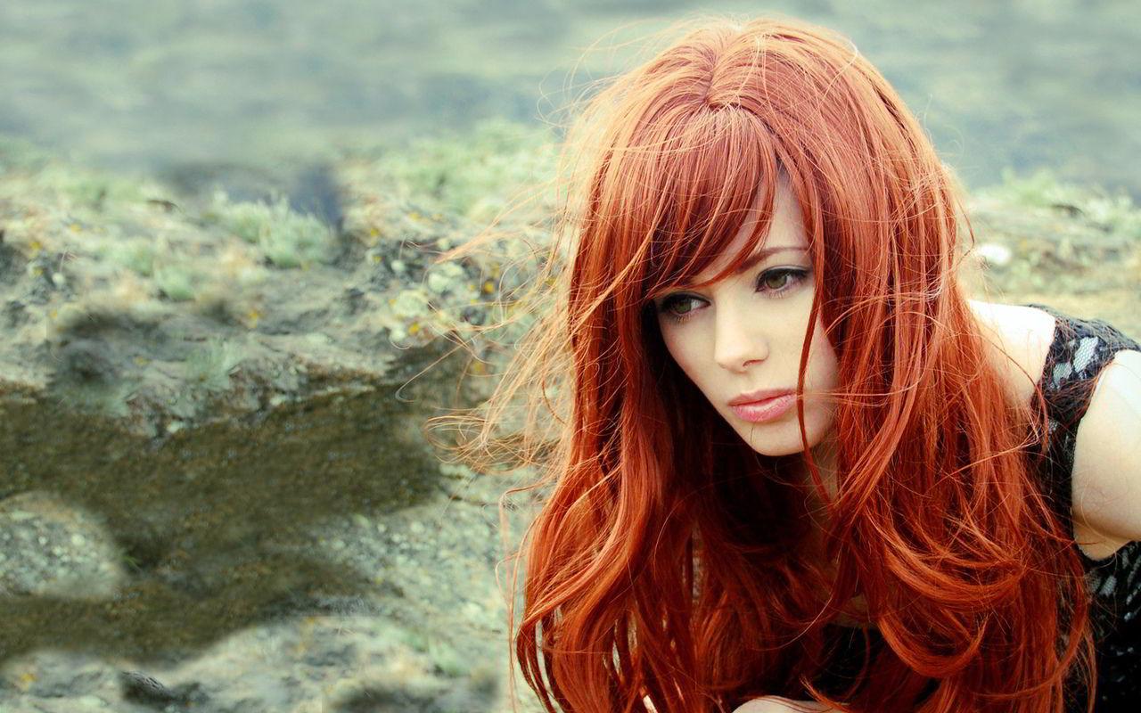 Модные прически на рыжие волосы 2019 фото