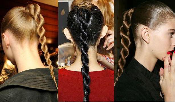 Коса канат-жгут на длинные волосы 2020