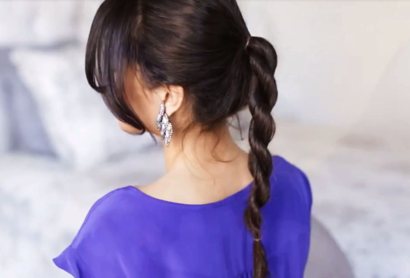 Коса - каната на средние волосы 2020