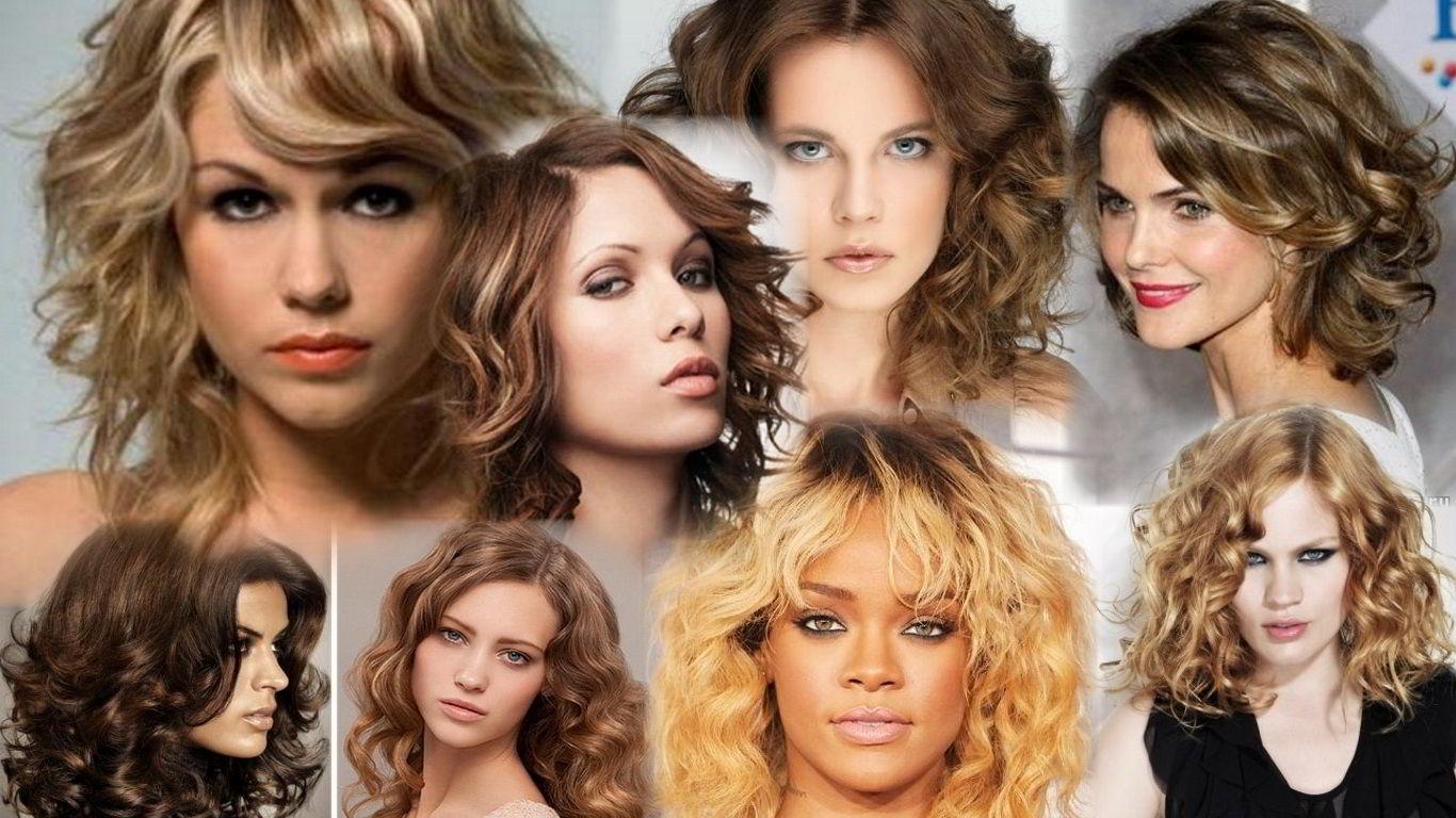Принцип выбора прически кудрявых волос