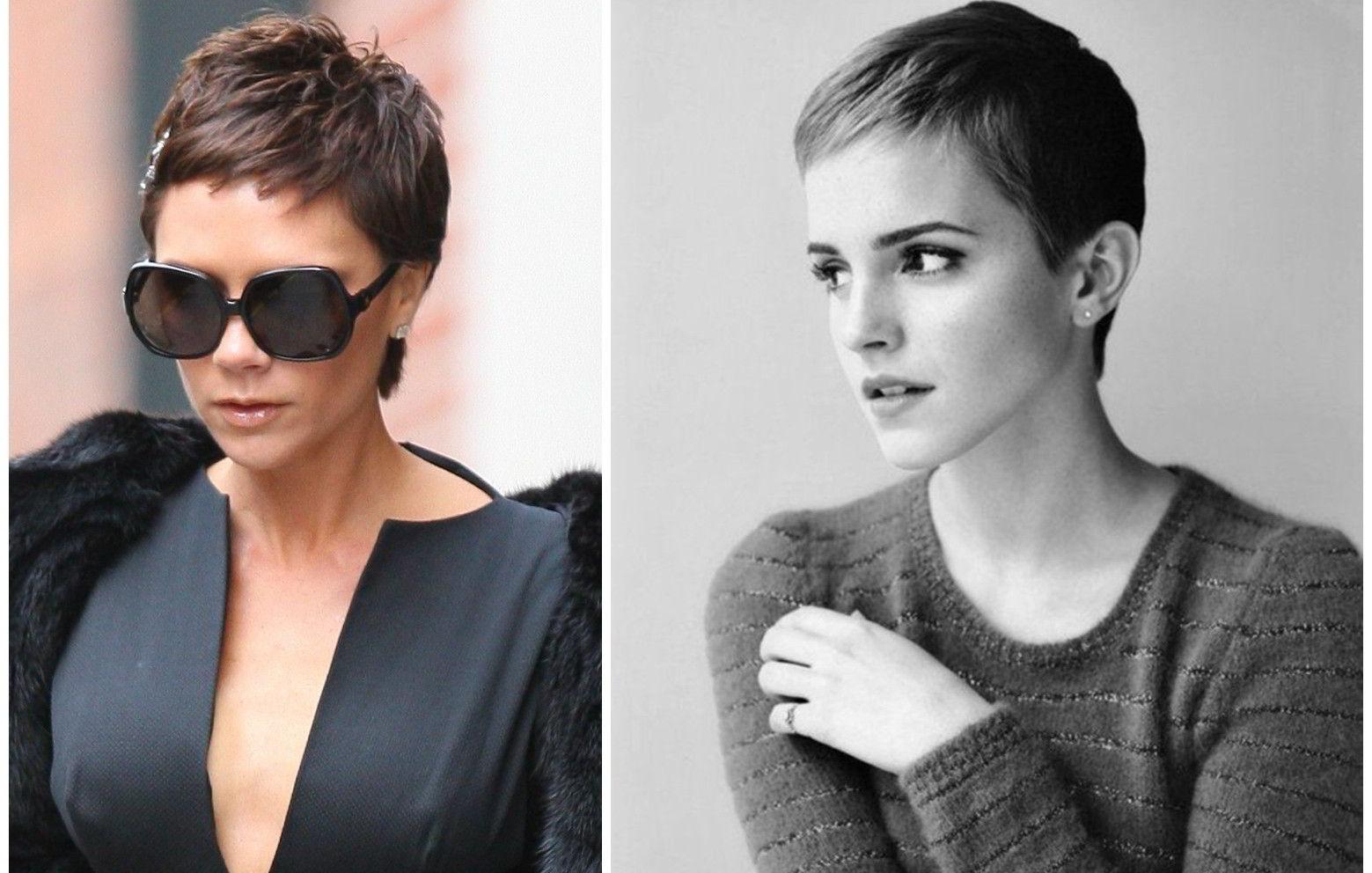 Модные прически на короткие волосы для овального лица 2020