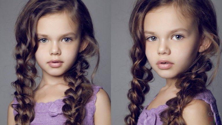 Модные прически на длинные волосы для девочек 2019 фото