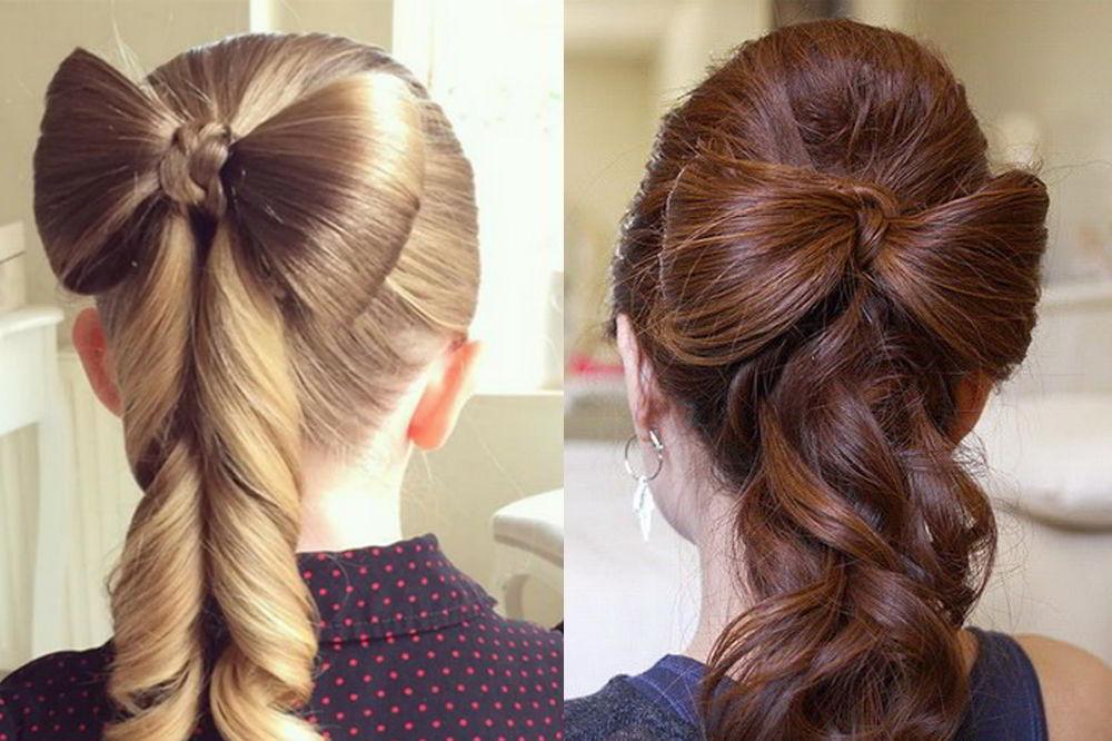 Какими бывают детские прически надлинные волосы?