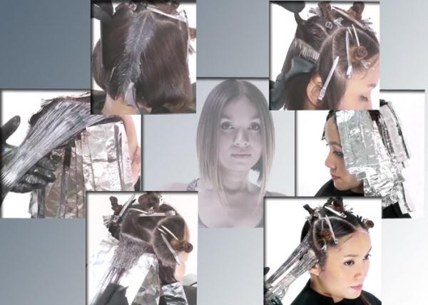 Как сделать балаяж в домашних условиях на светлые волосы