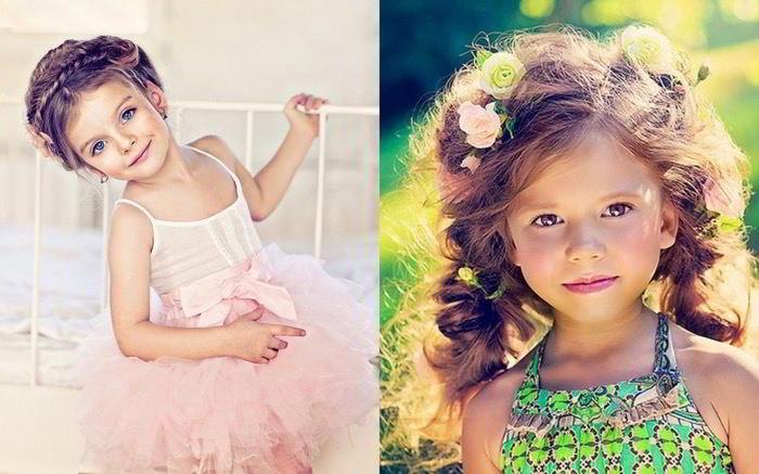 Какими бывают детские прически на длинные волосы?