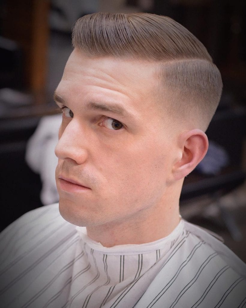 Модная мужская стрижка принстон на короткие волосы 2019