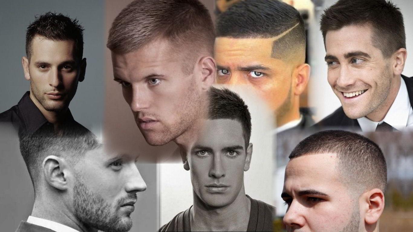 Модные мужские стрижки на короткие волосы 2019 фото