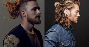 Модные мужские стрижки на длинные волосы 2020 фото