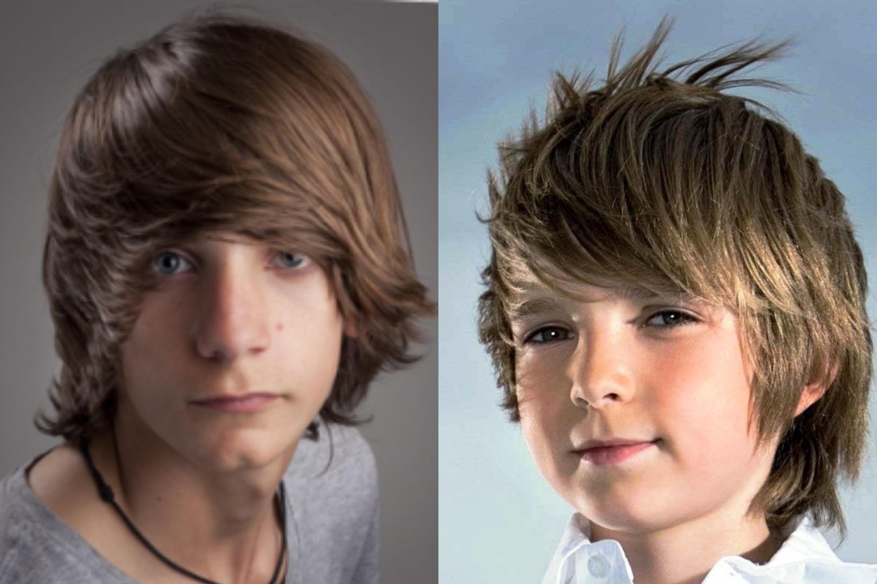 Модная прическа боб для мальчиков 10-11 лет 2020