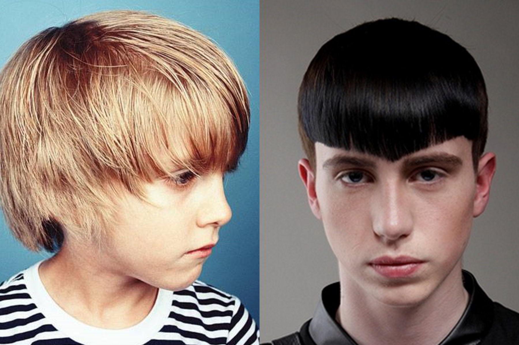 Модная прическа шапочка для мальчика 12-13 лет 2020