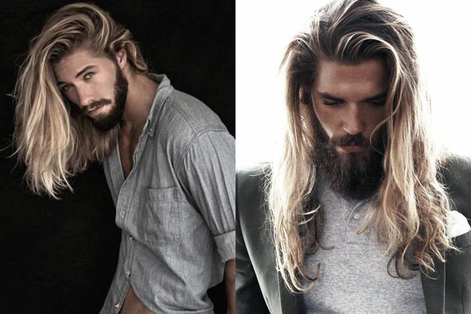 Модные тенденции мужских стрижек на длинные волосы 2020